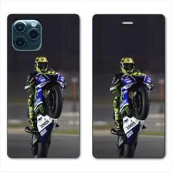 "RV Housse cuir portefeuille Iphone 11 Pro (6,1"") Moto Wheeling"