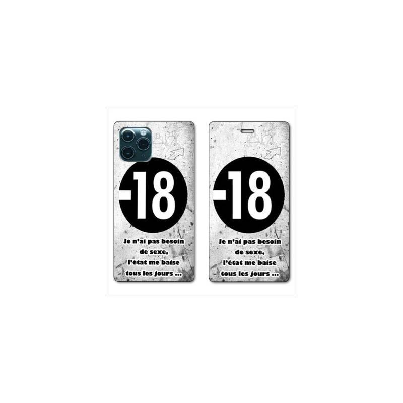 TUCCH Coque iPhone 11 Pro Portefeuille [Réveil/Veille] Etui en Cuir Synthétique Stand pour iPhone 11 Pro (58 pouces)