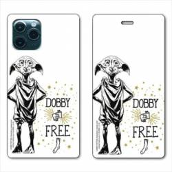 "RV Housse cuir portefeuille Iphone 11 Pro (6,1"") WB License harry potter dobby Free B"