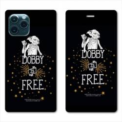 """RV Housse cuir portefeuille Iphone 11 Pro (6,1"""") WB License harry potter dobby Free N"""