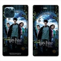 "RV Housse cuir portefeuille Iphone 11 Pro (6,1"") WB License harry potter pattern Azkaban"