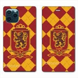 "RV Housse cuir portefeuille Iphone 11 Pro (6,1"") WB License harry potter ecole Griffindor"