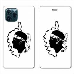 """RV Housse cuir portefeuille Iphone 11 Pro Max (6,5"""") Corse"""