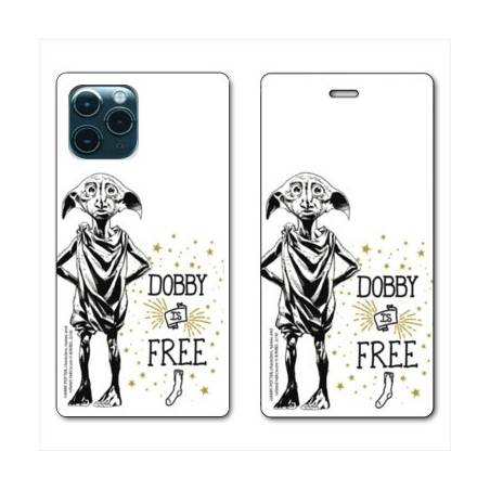 """RV Housse cuir portefeuille Iphone 11 Pro Max (6,5"""") WB License harry potter dobby Free B"""