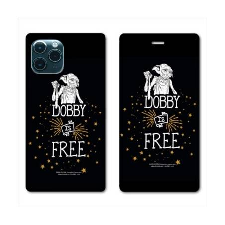 """RV Housse cuir portefeuille Iphone 11 Pro Max (6,5"""") WB License harry potter dobby Free N"""