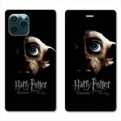 "RV Housse cuir portefeuille Iphone 11 Pro Max (6,5"") WB License harry potter dobby Hollows"