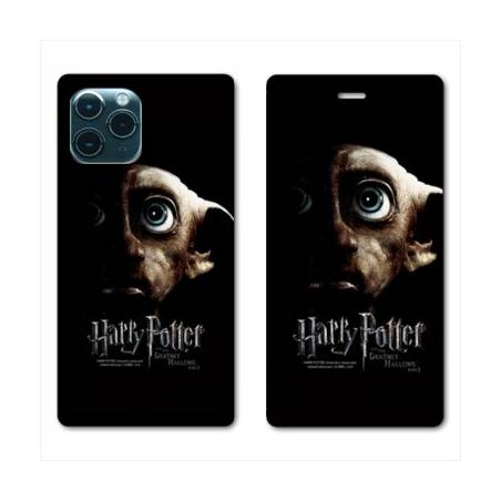 """RV Housse cuir portefeuille Iphone 11 Pro Max (6,5"""") WB License harry potter dobby Hollows"""