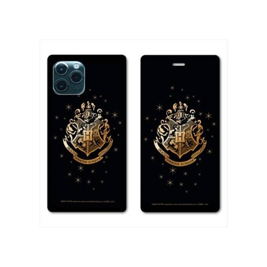 "RV Housse cuir portefeuille Iphone 11 Pro Max (6,5"") WB License harry potter pattern Poudlard"