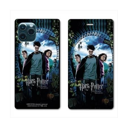 "RV Housse cuir portefeuille Iphone 11 Pro Max (6,5"") WB License harry potter pattern Azkaban"
