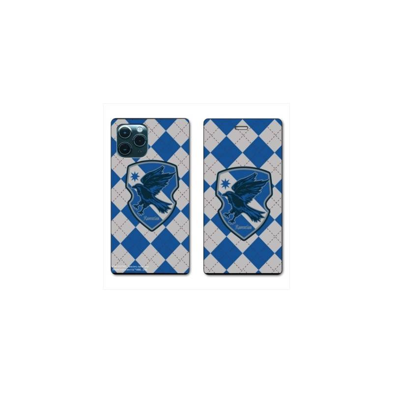 """RV Housse cuir portefeuille Iphone 11 Pro Max (6,5"""") WB License harry potter ecole Ravenclaw"""