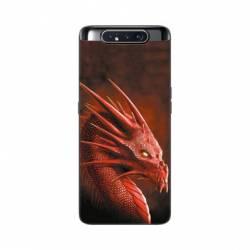 Coque Samsung Galaxy A80 Dragon Rouge