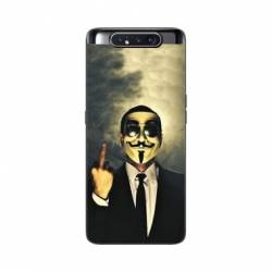 Coque Samsung Galaxy A80 Anonymous doigt