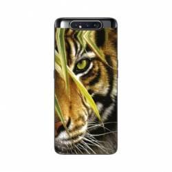 Coque Samsung Galaxy A80 œil tigre