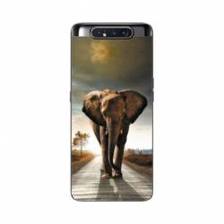 Coque Samsung Galaxy A80 savane Elephant route