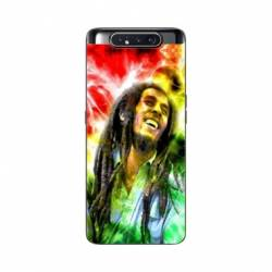 Coque Samsung Galaxy A80 Bob Marley Color