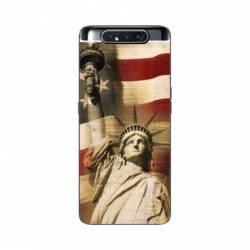 Coque Samsung Galaxy A80 Amerique USA Statue liberté