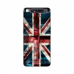 Coque Samsung Galaxy A80 Angleterre UK Jean's