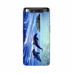 Coque Samsung Galaxy A80 Dauphin ile