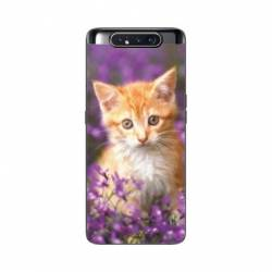Coque Samsung Galaxy A80 Chat Violet