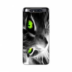 Coque Samsung Galaxy A80 Chat Vert