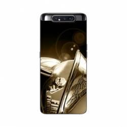 Coque Samsung Galaxy A80 pompier casque vintage