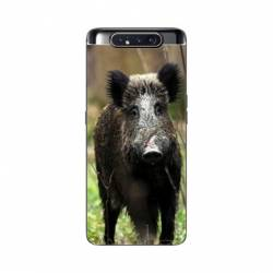 Coque Samsung Galaxy A80 chasse sanglier bois