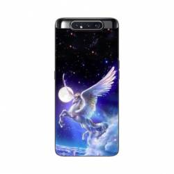 Coque Samsung Galaxy A80 Licorne Céleste