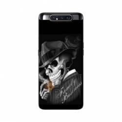 Coque Samsung Galaxy A80 tete de mort family business