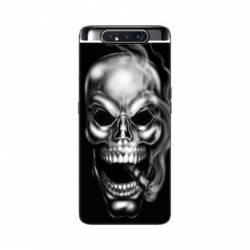 Coque Samsung Galaxy A80 tete de mort Fume