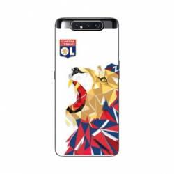 Coque Samsung Galaxy A80 License Olympique Lyonnais OL - lion color