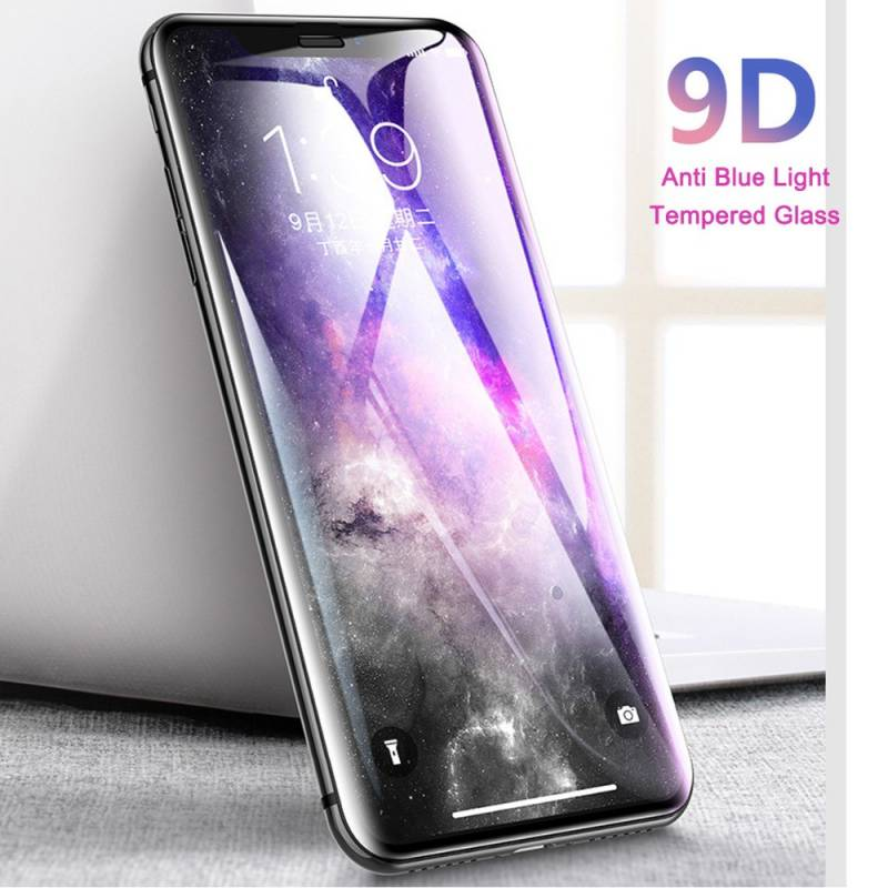 """Vitre protection / Verre trempé 9D incurvé pour Iphone 11 Pro (5.8"""")"""
