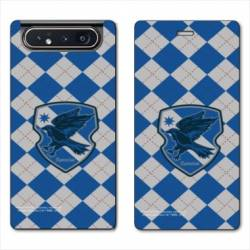 Housse cuir portefeuille Samsung Galaxy A80 WB License harry potter ecole Ravenclaw