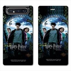 Housse cuir portefeuille Samsung Galaxy A80 WB License harry potter pattern Azkaban