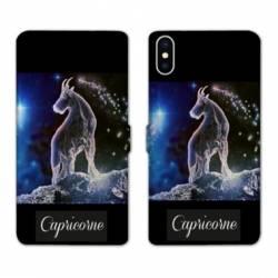 RV Housse cuir portefeuille Wiko Y60 signe zodiaque Capricorne2