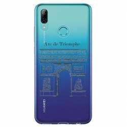 Coque transparente Huawei Honor 10 Lite / P Smart (2019) Arc triomphe