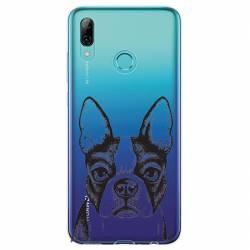 Coque transparente Huawei Honor 10 Lite / P Smart (2019) Bull dog