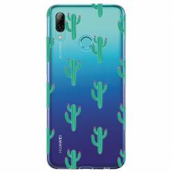 Coque transparente Huawei Honor 10 Lite / P Smart (2019) Cactus