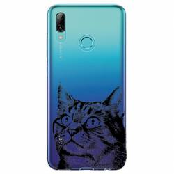 Coque transparente Huawei Honor 10 Lite / P Smart (2019) Chaton