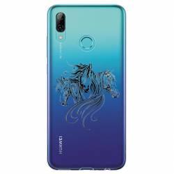 Coque transparente Huawei Honor 10 Lite / P Smart (2019) chevaux
