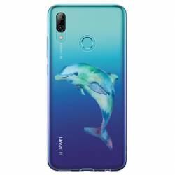 Coque transparente Huawei Honor 10 Lite / P Smart (2019) Dauphin Encre