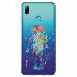 Coque transparente Huawei Honor 10 Lite / P Smart (2019) Dobby colore