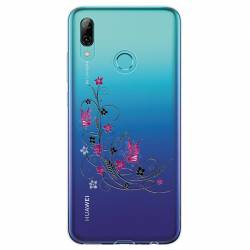 Coque transparente Huawei Honor 10 Lite / P Smart (2019) feminine fleur papillon
