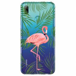 Coque transparente Huawei Honor 10 Lite / P Smart (2019) Flamant Rose