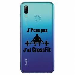 Coque transparente Huawei Honor 10 Lite / P Smart (2019) jpeux pas jai crossfit