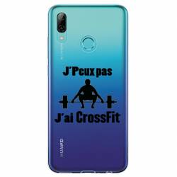 Coque transparente Huawei Honor 10 Lite / P Smart (2019) jpeux pas jai crossfit