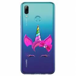 Coque transparente Huawei Honor 10 Lite / P Smart (2019) Licorne paillette