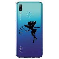 Coque transparente Huawei Honor 10 Lite / P Smart (2019) magique fee noir