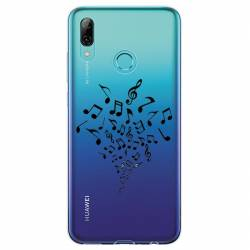 Coque transparente Huawei Honor 10 Lite / P Smart (2019) note musique