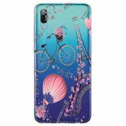 Coque transparente Huawei Honor 10 Lite / P Smart (2019) Paris mongolfiere