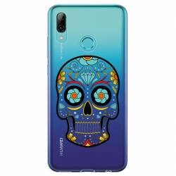 Coque transparente Huawei Honor 10 Lite / P Smart (2019) tete de mort